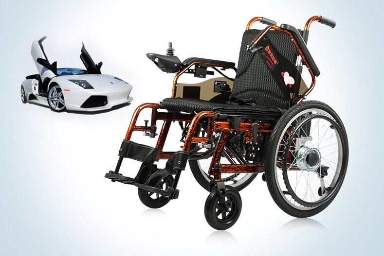 JERRY JRWD301LP Electric Wheelchair