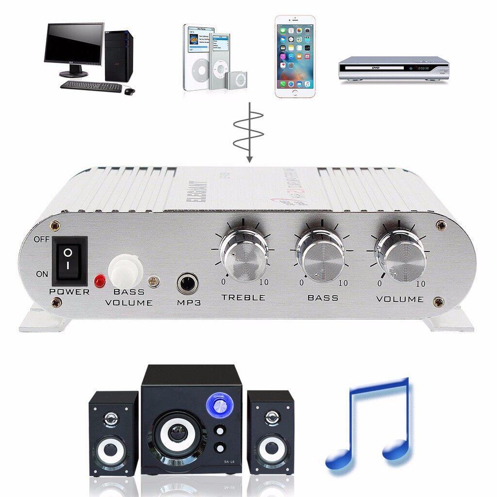 Car Radios - Hi-Fi CD MP3 Radio Car Home Audio Stereo Bass Speaker - Electronics