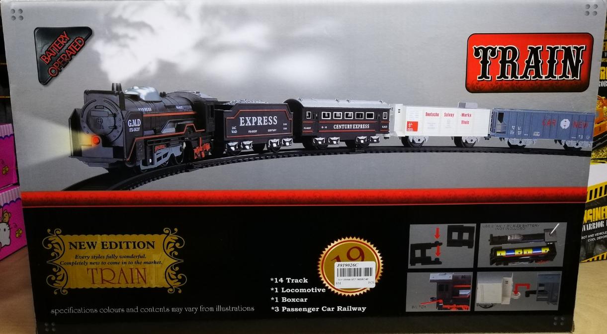 Kids Toy - Century Express Train Toys Set for boys