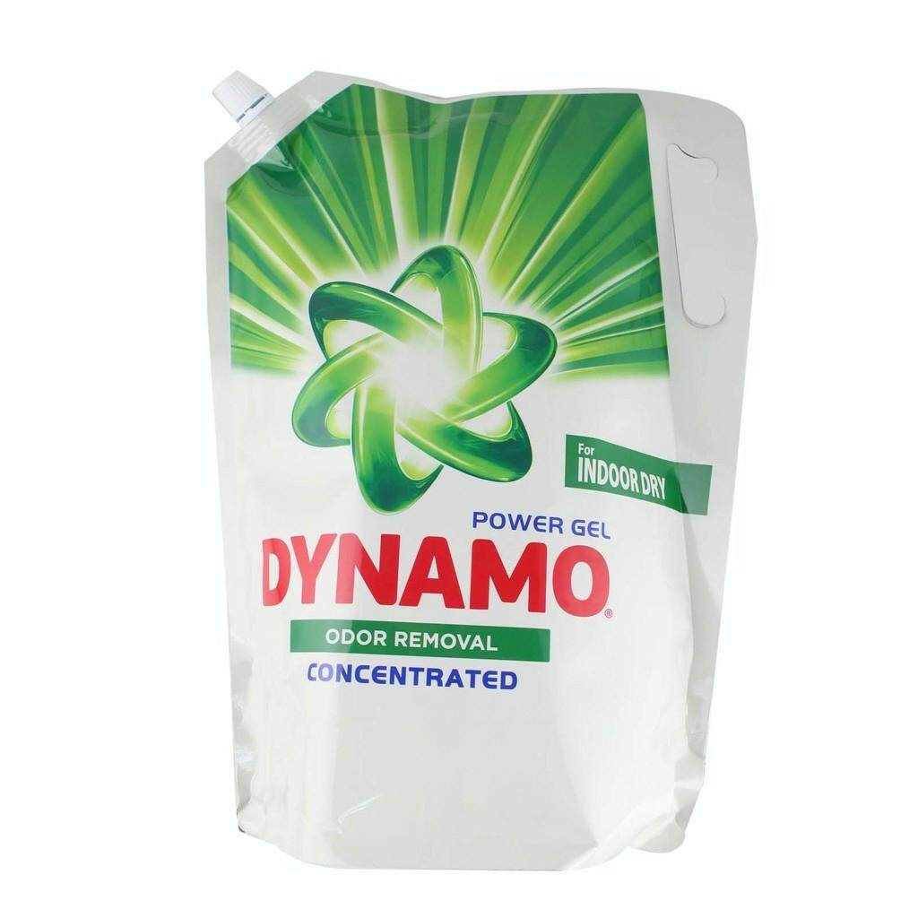 Dynamo Power Gel  Liquid Detergent Refill -ODOR REMOVAL 2.4KG READY STOCK