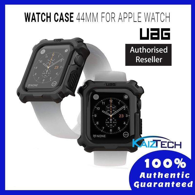 UAG Rugged Case Series Drop Protection Case for Apple Watch 44mm Series 4 Series 5 - Black/Black