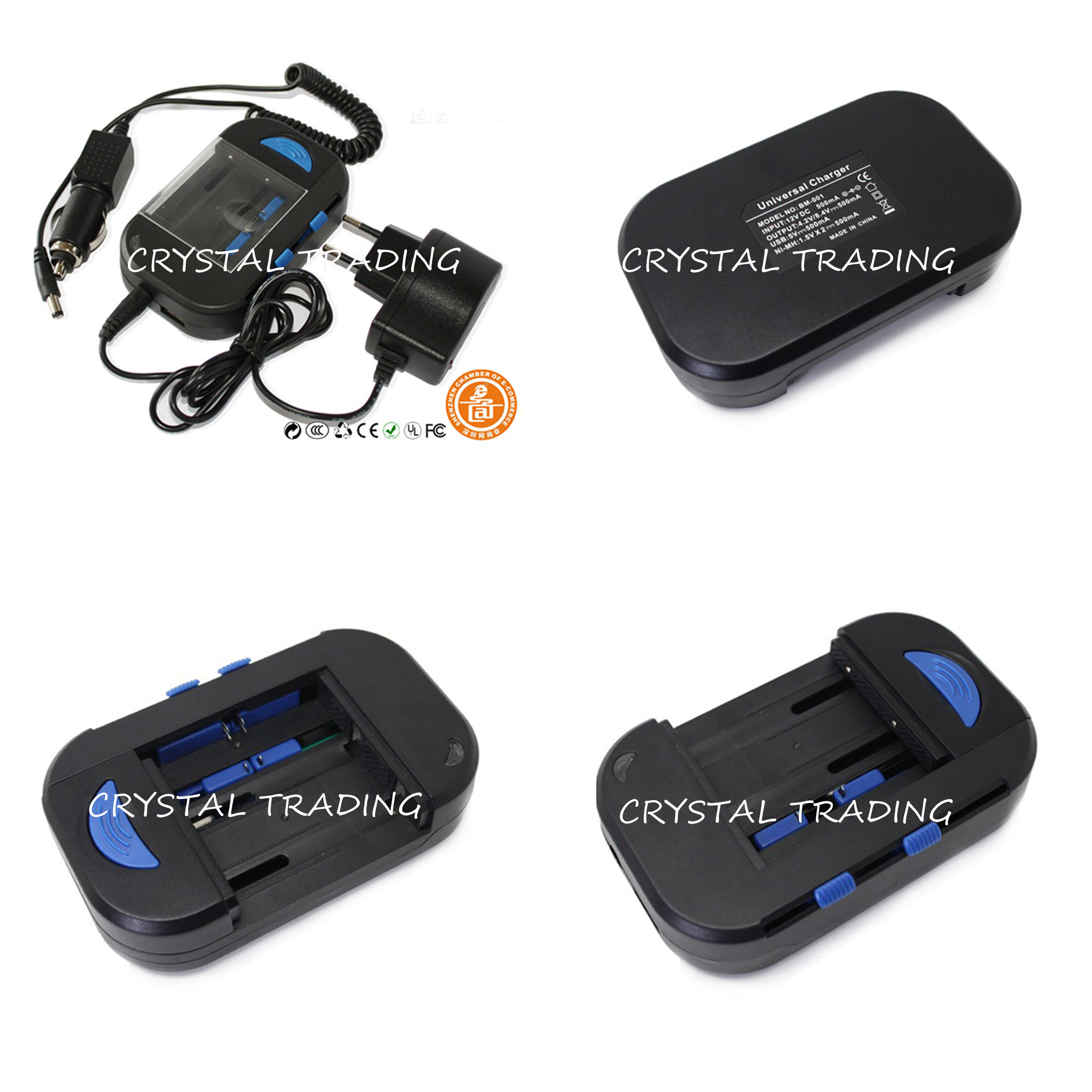 Original Universal Charger For All Batteries Ready Stock Multi Charger