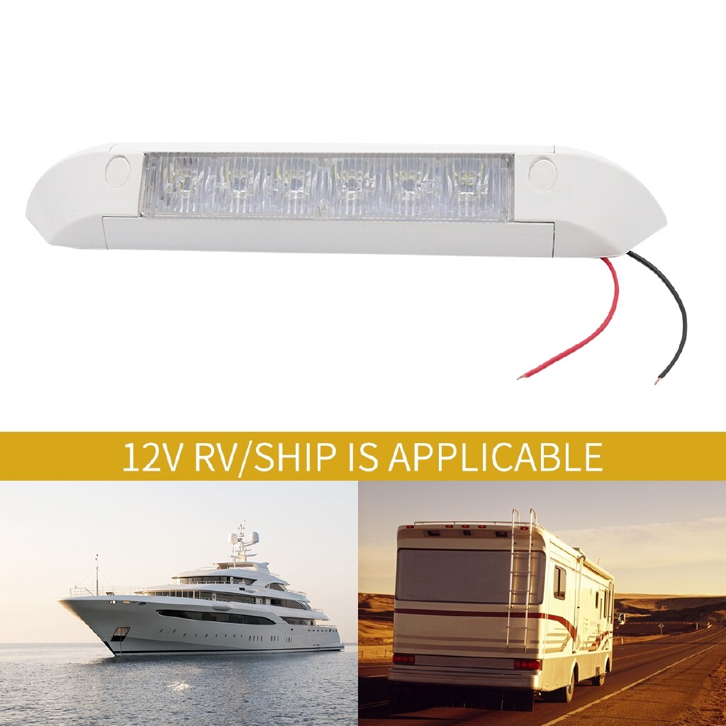 Car Lights - 11 LED Awning Entry Light Bar Strip Lamp Caravan RV Marine Boat Motorhome 12V - Replacement Parts