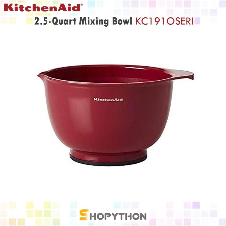 KitchenAid 2.5-Quart Mixing Bowl KC191OSERI (2.35L) Classic Multipurpose Plastic Mangkuk Adunan Baking Bakeware