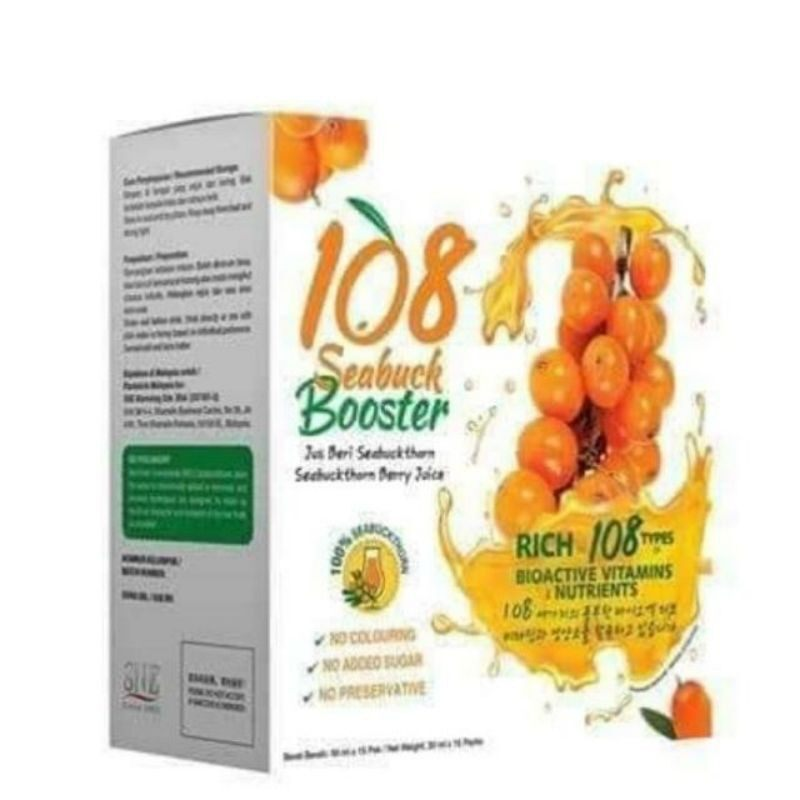 SNE 108 SERBUK BOOSTER 15 PACKS X 30 ML