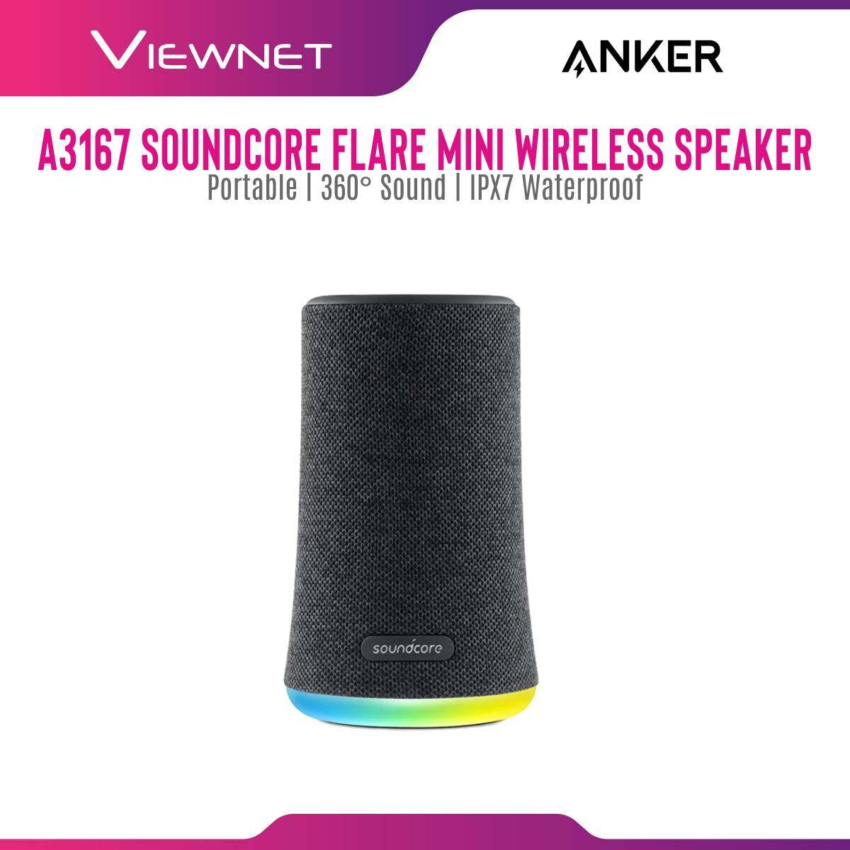 Anker A3167 Soundcore Flame Mini Portable Wireless Speaker