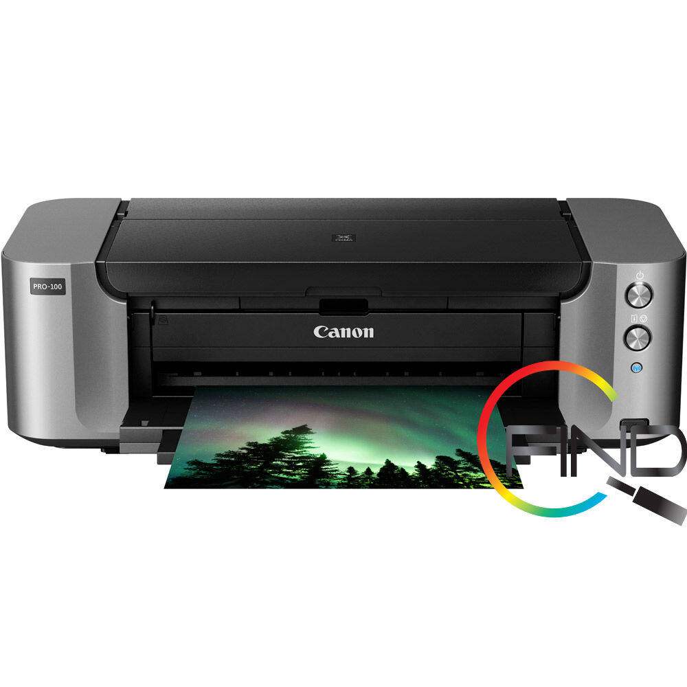 CANON PIXMA PRO-100 A3+ SIZE PROFESSIONAL SINGLE-FUNCTION PHOTO PRINTER ( with Wifi / Ethernet / Airprint )