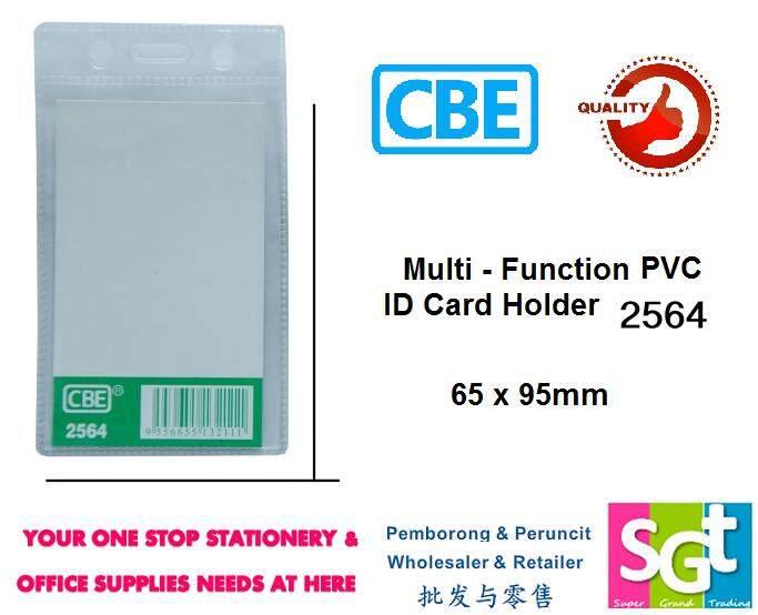 CBE PVC Name Badge W/O Clip 65MM X 95MM 100pcs
