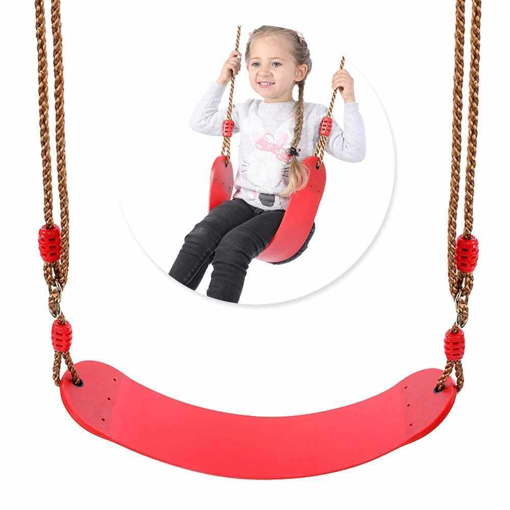 Children Indoor Outdoor Swing Seat Kids Safety Backyard Playground Swing Seat (Standard)