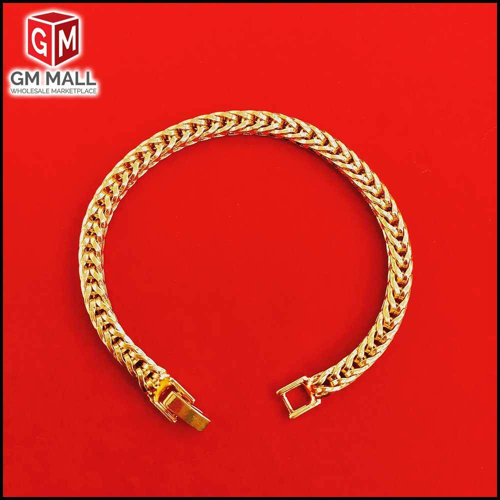 Emas Korea Jewellery - Gelang Tangan Snake Gold Plated (EK-2042-6)