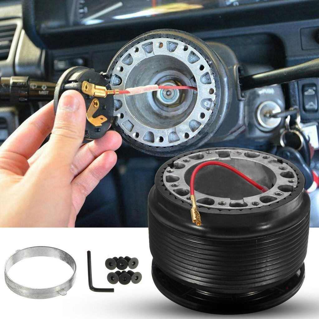 Car Lights - Steering Wheel Hub Adapter Boss Kit For Mitsubishi - Replacement Parts