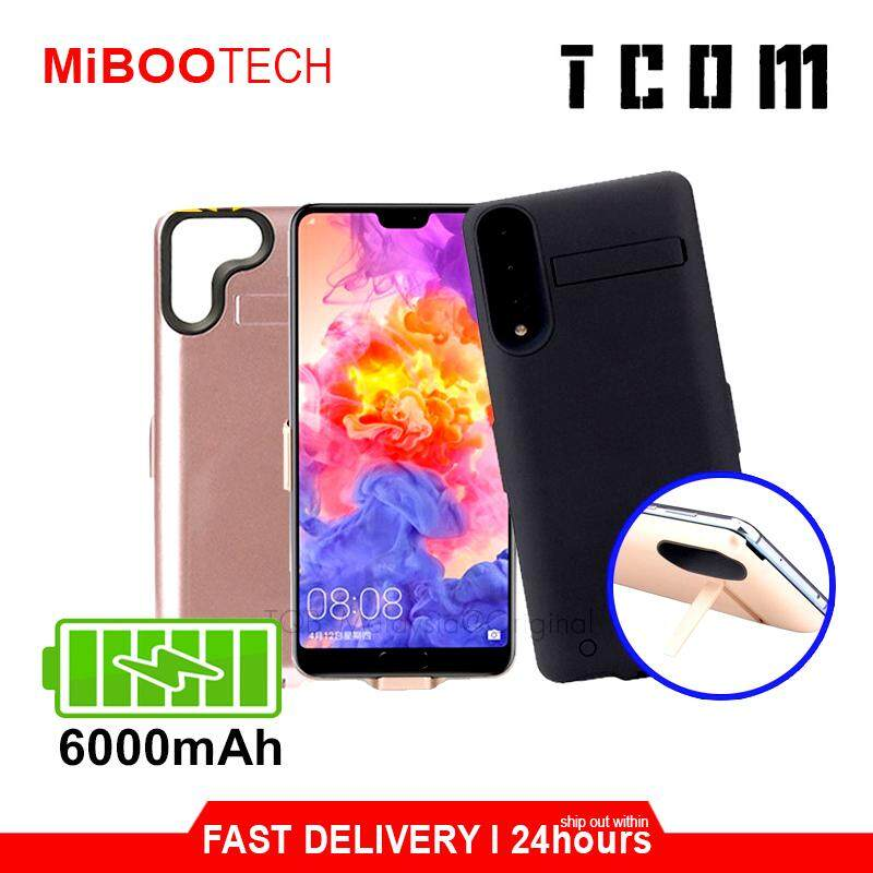 [Miboo] Huawei P20 Pro 6000mAh 2.0A Max Powercase Cover Powerbank Battery Case Cover with holder P20 Pro - Black