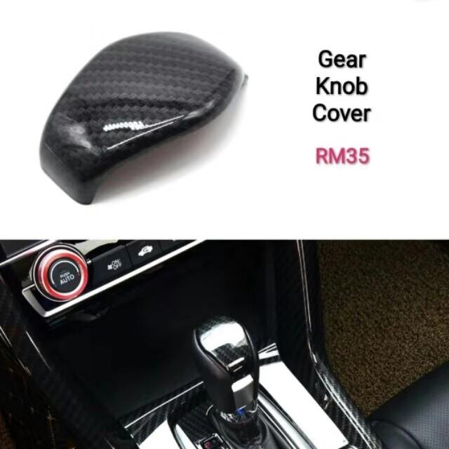 Honda Civic Fc gear knob cover carbon fibre