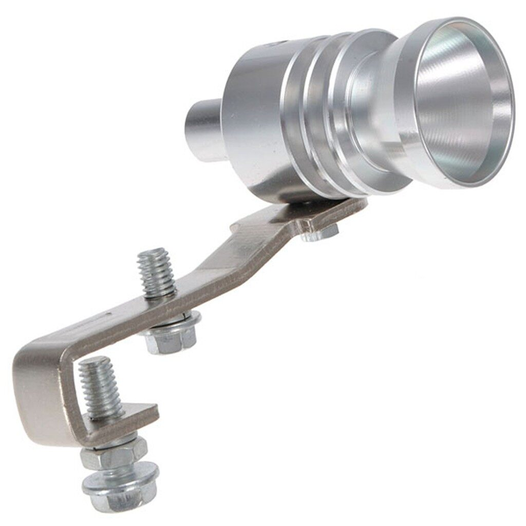 Exhaust - Fake Turbo Sound Whistler Muffler Exhaust Pipe Blow Off Valve - S / M / L / XL