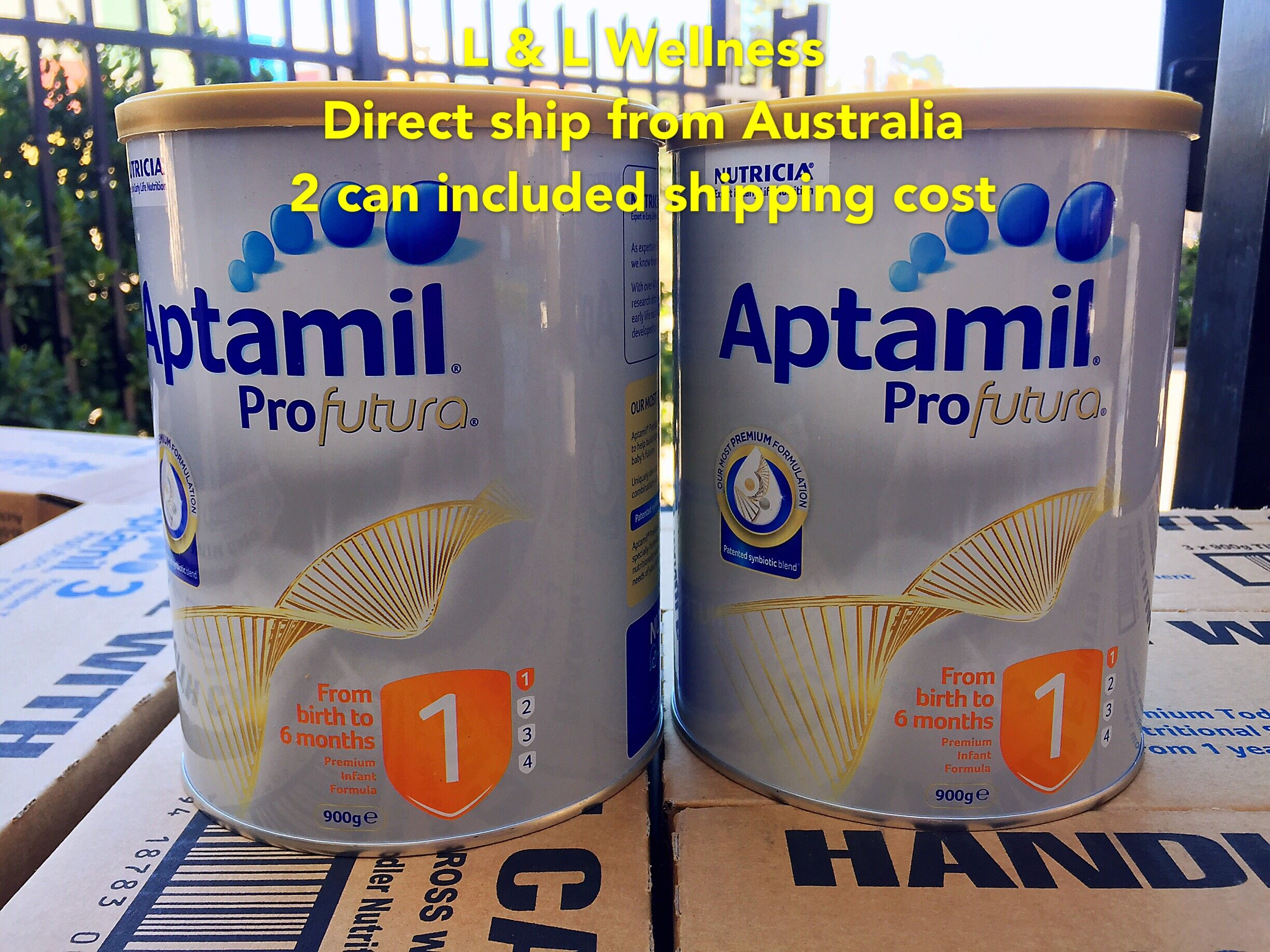 [Ready Stock] Australia Import aptamill Profutura Step 1 ( 0-6 months ) 900g Twin Pack