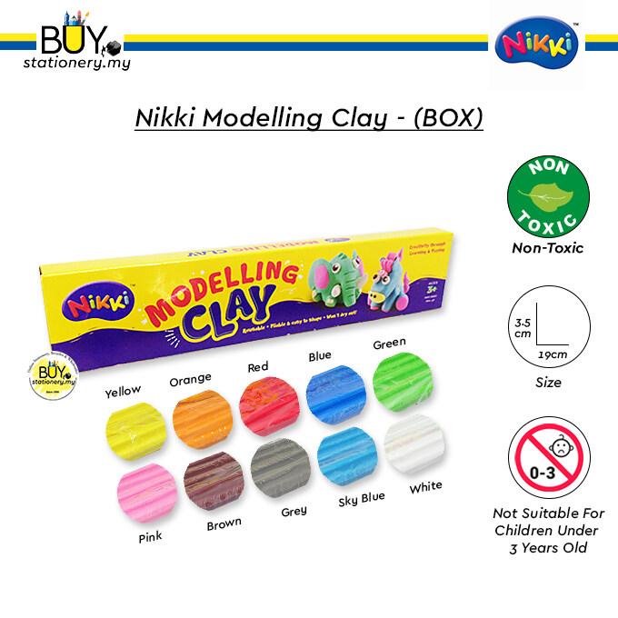 Nikki Modelling Clay - (BOX)