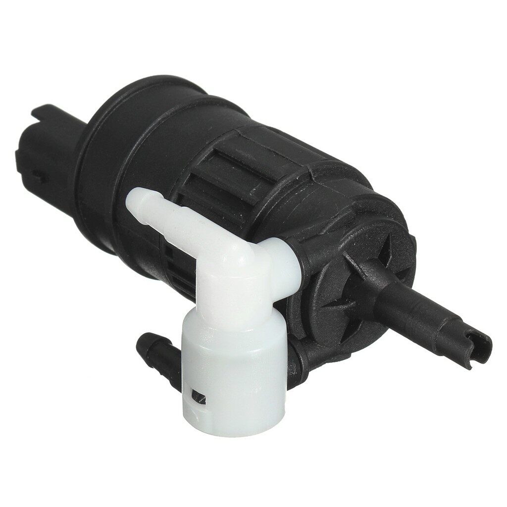 Windscreen Wipers & Windows - Twin Outlet Windscreen Washer Pump For Renault Clio Espace Laguna Megane Scenic - Car Replacement Parts
