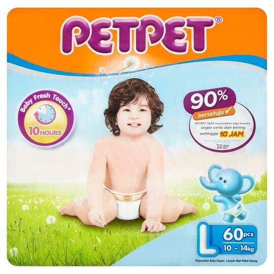 PAMPERS PET PET - L 60