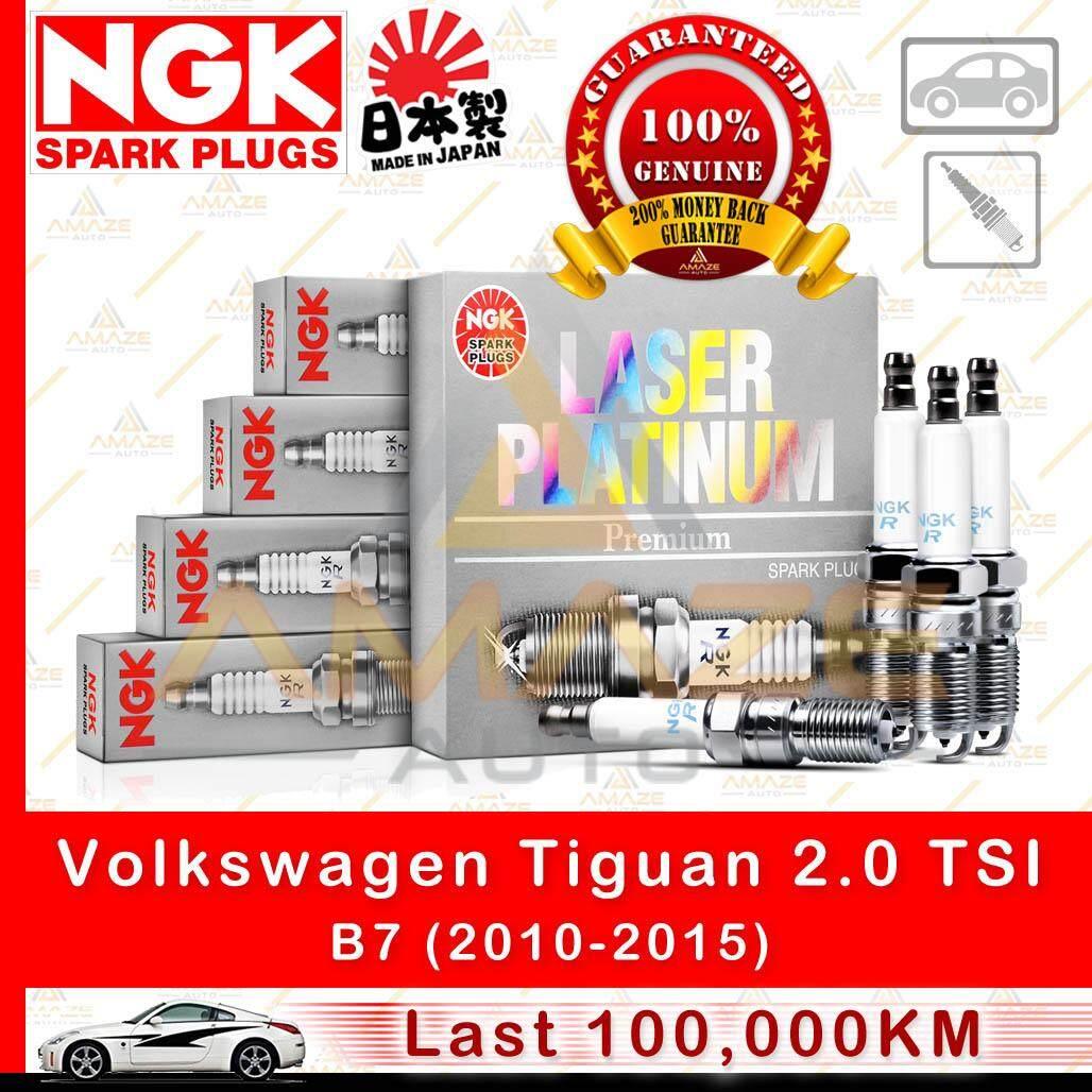NGK Laser Platinum Spark Plug for Volkswagen Tiguan 2.0 TSI B7 (2010-2015)