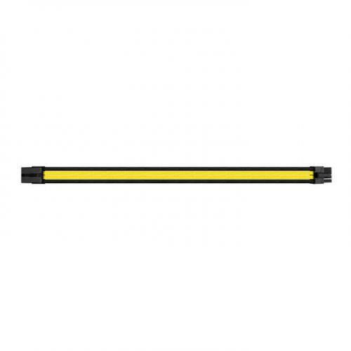 THERMALTAKE TTMOD POWER SUPPLY EXTENSION SLEEVE CABLE SET 300MM BLACK/YELLOW (AC-047CN1NANA1)