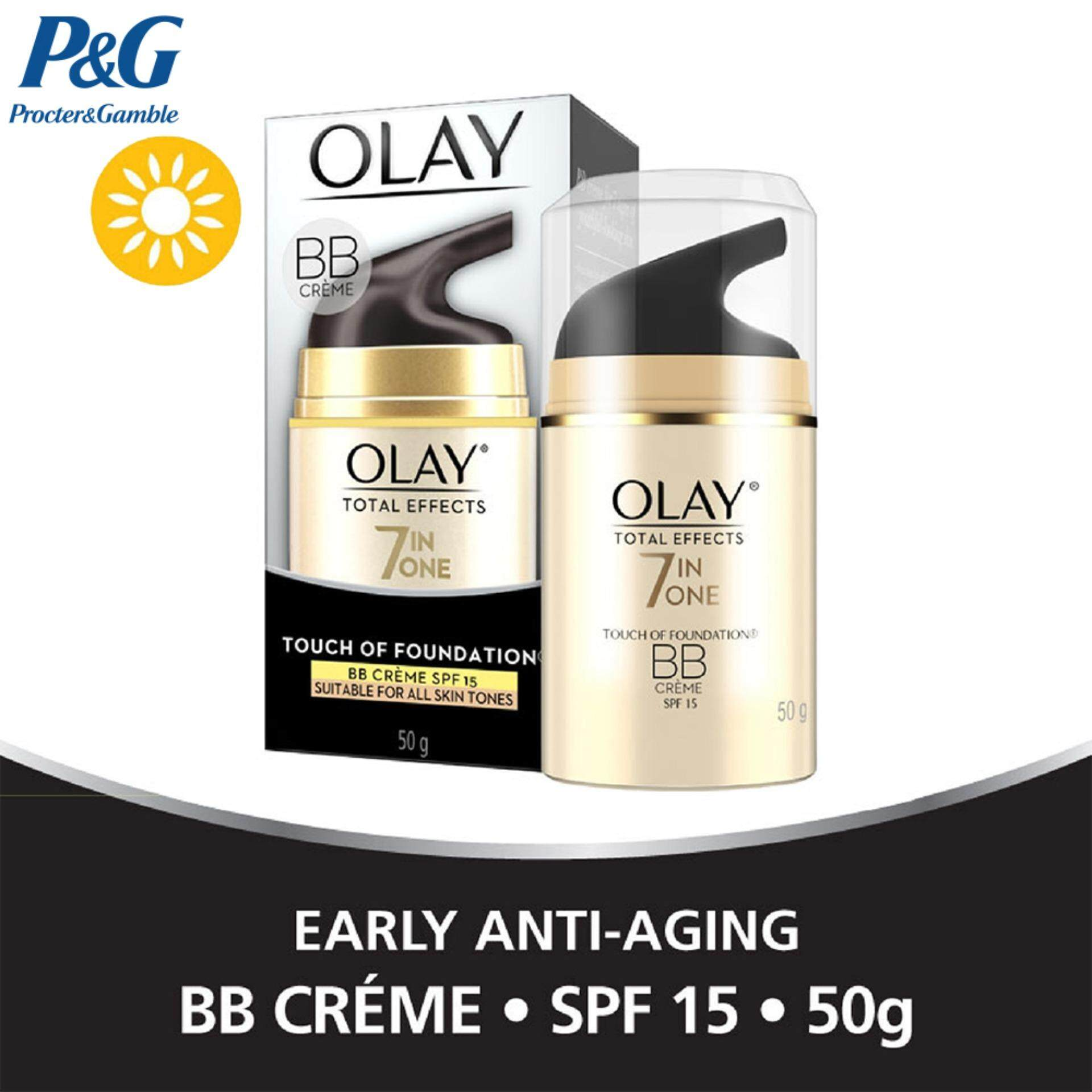 Olay Total Effects 7 in One Touch Of Foundation Bb Crème SPF15 50g