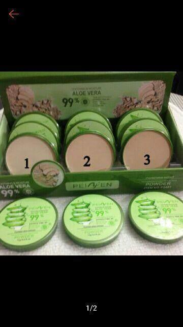 FREE GIFTPeiyen 99% aloevera compack powder