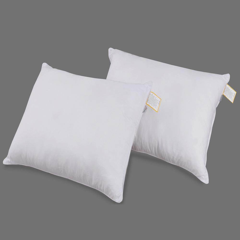 HomeLux: Comfy Pillow 2-Pcs - Premium Filling and CVC Cotton Fabric Cover