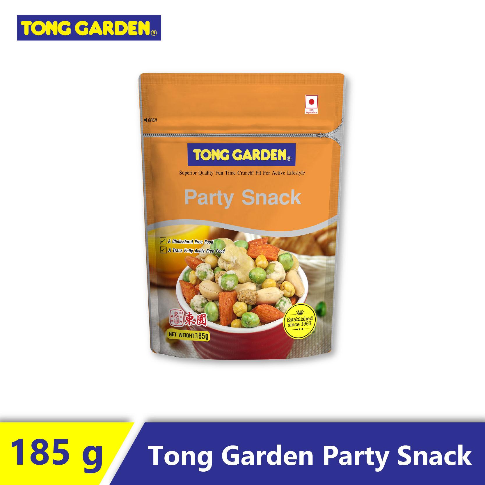Tong Garden Party Snack 185g
