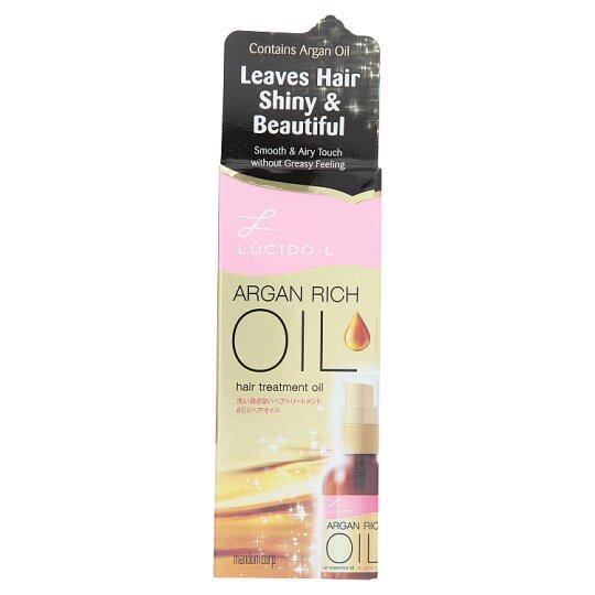LUCIDO-L ARGAN RICH HAIR TREATMENT OIL 60ml pink