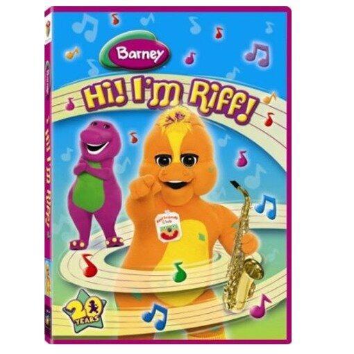 Barney Hi! Im Riff! - DVD