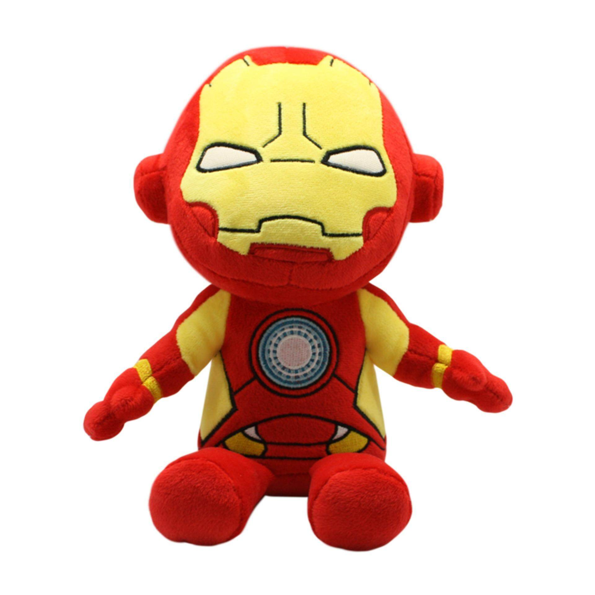 Marvel Avengers Standard Iron Man Plush Toys 10 Inches - Multicolour