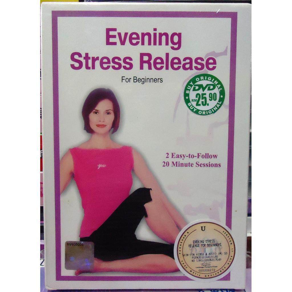 Yoga Exercise Collection Evening Stress Release for Beginners DVD