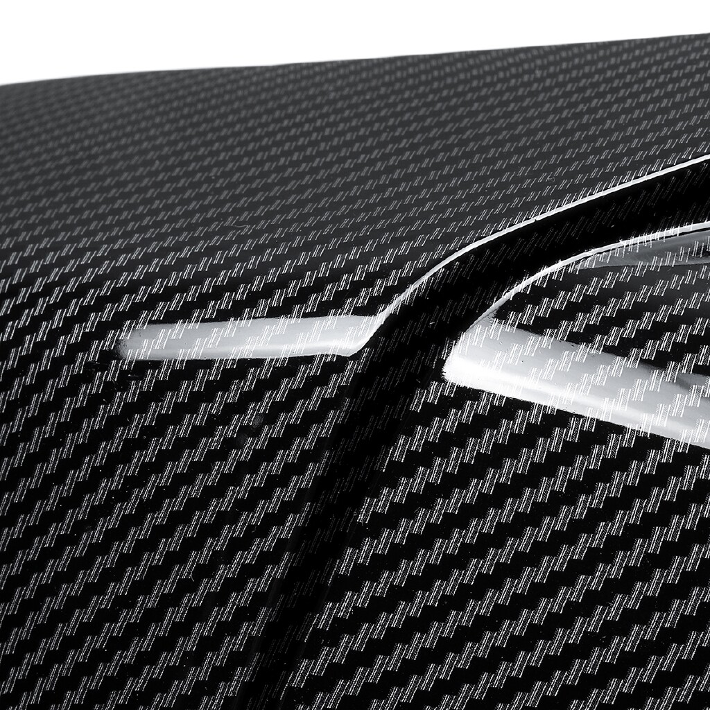 Automotive Tools & Equipment - 1 Pair Black Carbon Fiber Rear Side Rearview Cover For Honda Accord - Car Replacement Parts