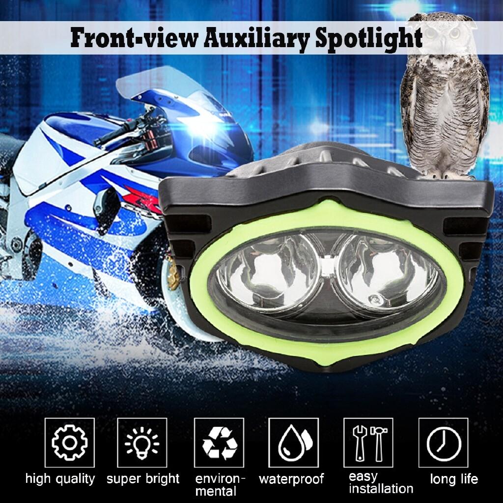 Car Lights - Super Bright 10W Motorcycle Bike Mirror Mount Spot Driving Fog Light Headlight - Replacement Parts