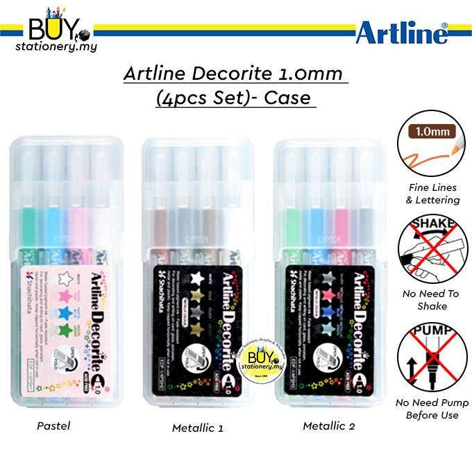 Artline Decorite 1.0mm (4pcs)- Case