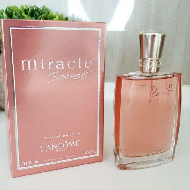 Lancome MIRACLE SECRET EAU DE PARFUM 100ML Original Quality Product