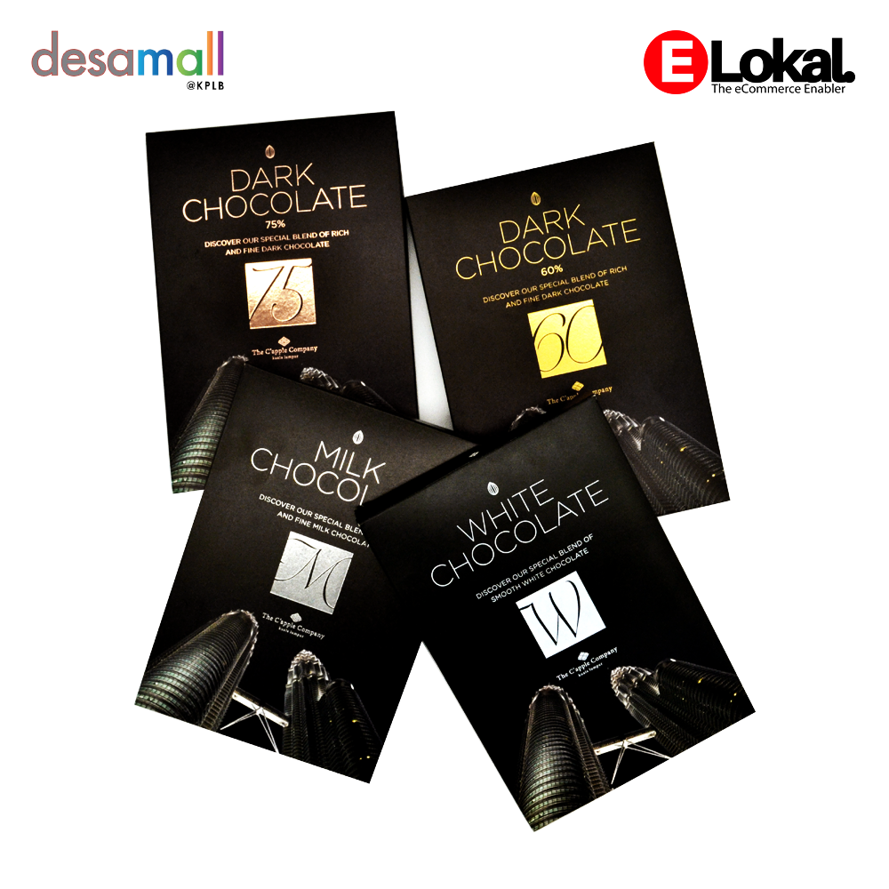 C\'APPLE CHOCOLATE Set 4 Box (60g x 4) - KLCC Scenery