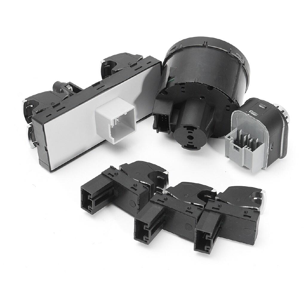 Automotive Tools & Equipment - 6X Window Mirror Headlight Switch Control SET For VW PASSAT GOLF JETTA MK5 MK6 - Car Replacement Parts