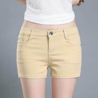 (PreOrder14 Days  JYS Fashion Korean Style Women Jeans Pant Collection-5216095col521-6095--Khakis-25