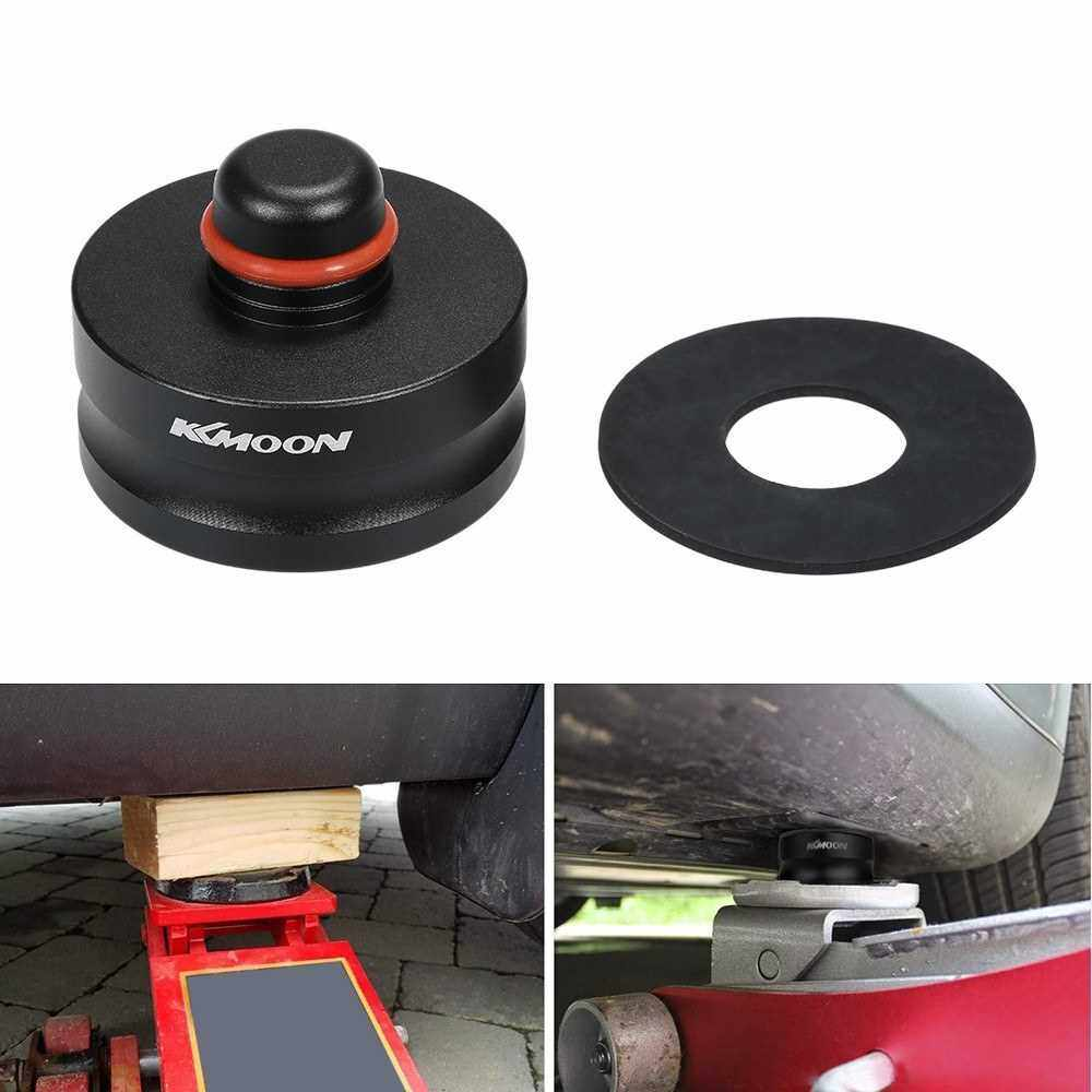 KKMOON Aluminum solid Jack Lift Point Pad Adapter Jack Pad Tool Chassis Dedicated for Tesla Model 3 (Black)
