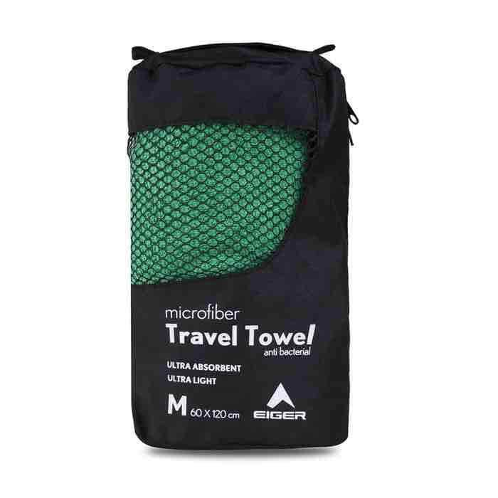 Eiger Travel Towel - Green M