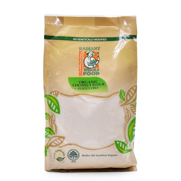 Radiant Organic Coconut Flour Gluten Free 500G