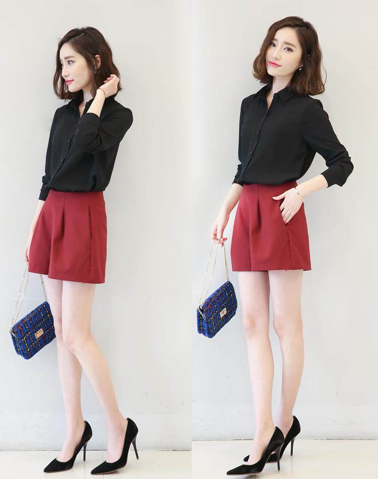 (Pre Order14 Days JYS Fashion Korean Style Women OL Top Collection-5177437col517-7437--Black -S
