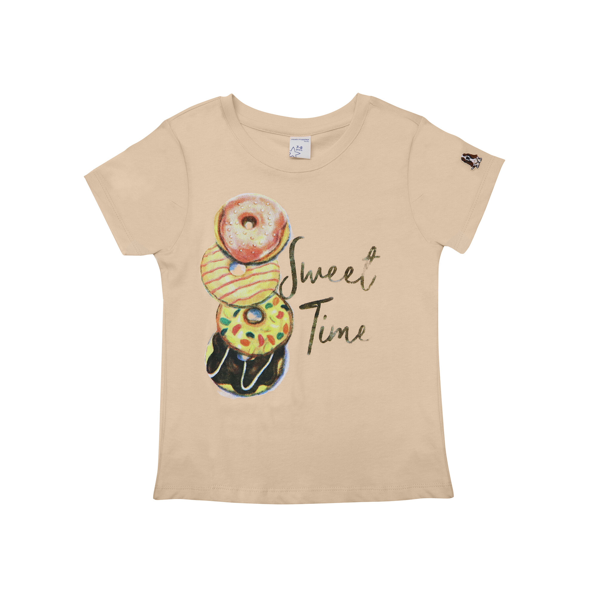 Hush Puppies Jayla Girl Round Neck Tee  HGT935565