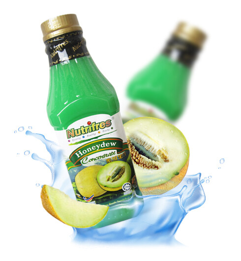 NutriFres Honeydew Concentrate / Cordial 1L