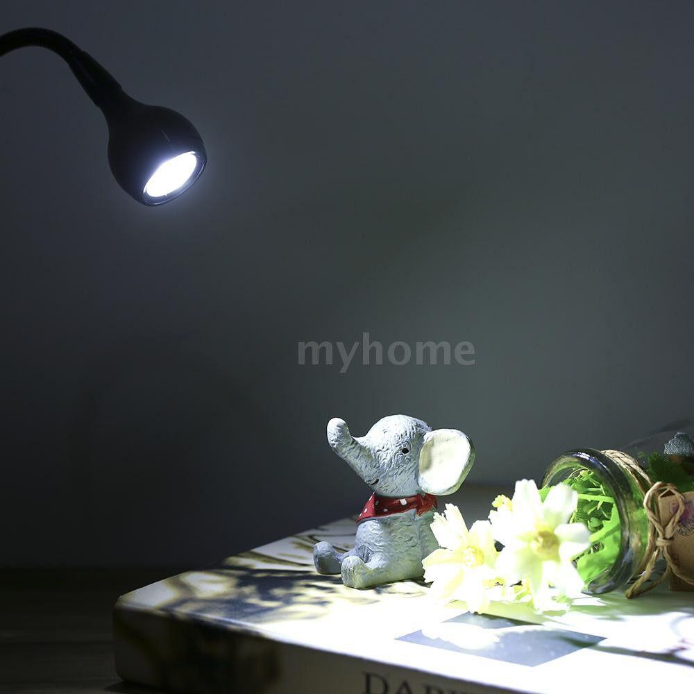 Lighting - DC3-5V 3W LED Orange Light Silver USB Lamp 4 Modes Clip Reading Light Laptop Desk Lamp Flexible - ORANGE-SILVER / PURPLE-SILVER / WARM WHITE-SILVER / WHITE-SILVER / ORANGE-BLACK / PURPLE-BLACK / WARM WHITE-BLACK / WHITE-BLACK