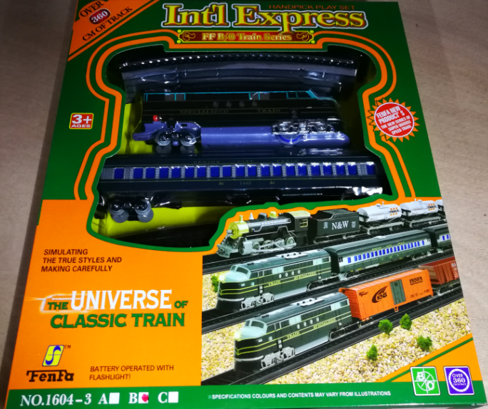 Kids Toy - Universe Of Classic Train Toys Set for boys