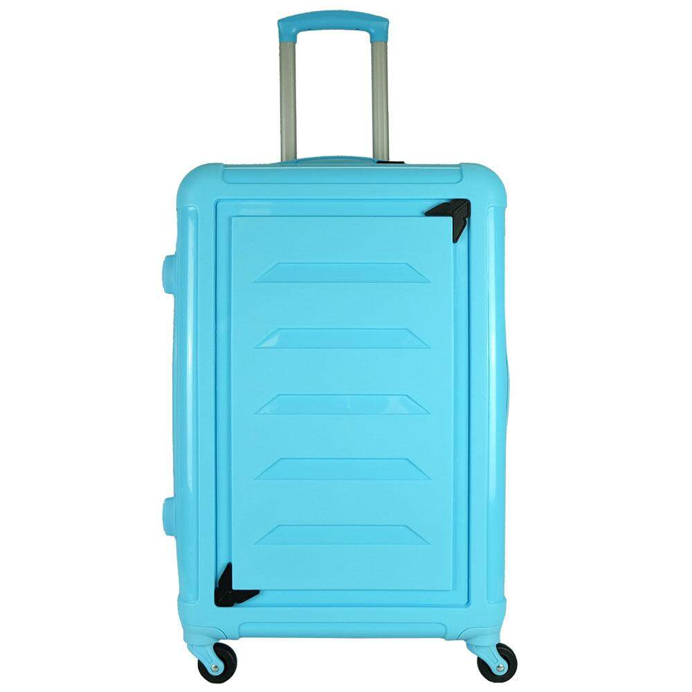 Giordano GA9612 24 Inch Unbreakable PP Hard Case Trolley (Blue)