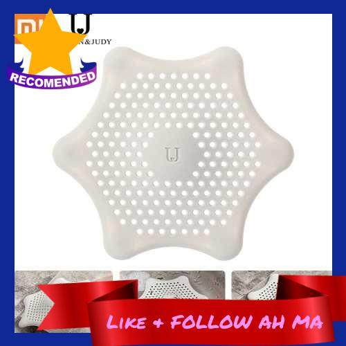 Best Selling Xiaomi Youpin Jordan Judy Silicone Filter Sundries Cleaning Strong Adsorption Easy To Clean Fine Eyelet Silicone Filter For Kitchen Bathroom Floor Drain (Light Grey)