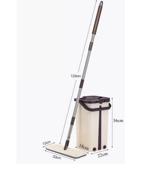 PREMIE Scratch Mop & Bucket Set Easy Magic Mop